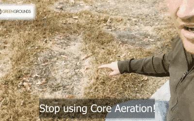 A superior alternative to core aeration